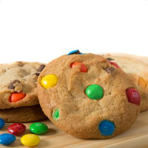 David's Pre-Formed Chocolate Chip M&M Cookie