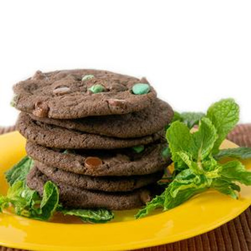 David's Pre-Formed Chocolate Mint Cookie