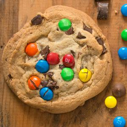 David's Decadent Pre-Formed Chocolate M&M Chunk Cookie