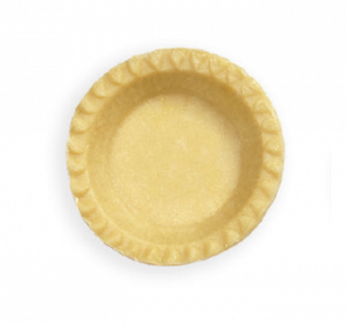 "Wicks's 4"" Raw Lard Pie Crust"