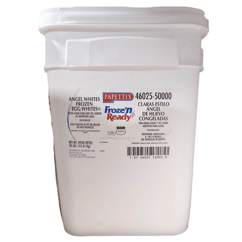Papetti's Frozen Whole Egg Whites - 30lb