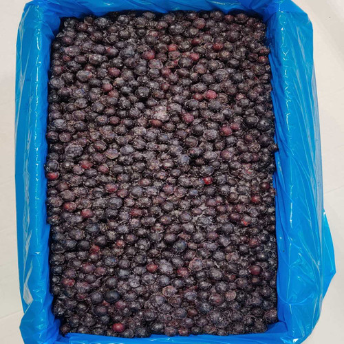 IQF Frozen Cultivated Blueberries - 30lb