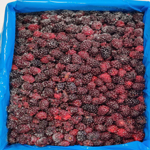 IQF Frozen Blackberries - 30lb