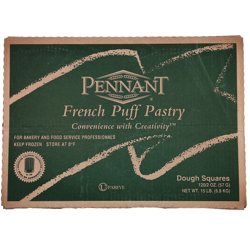 Pennant Puff Pastry Squares - 2oz/120