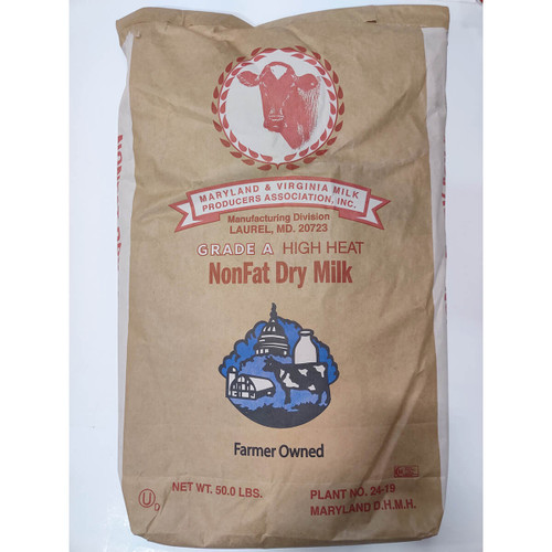 Nonfat High Heat Milk Powder - 50lb