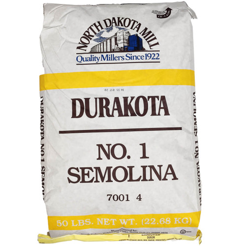 North Dakota Mill Durakota Semolina Flour - 50lb