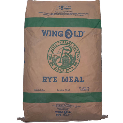 Bay State Milling Rye Meal Course Flour
