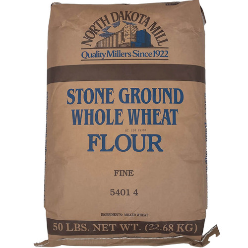 North Dakota Mill Whole Wheat Fine - 50lb