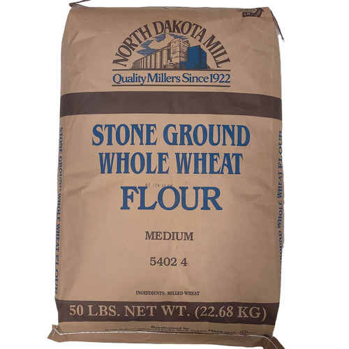 North Dakota Mill Whole Wheat Medium- 50lb
