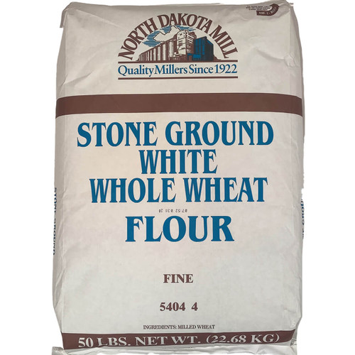 North Dakota Mill Whole Wheat White - 50lb