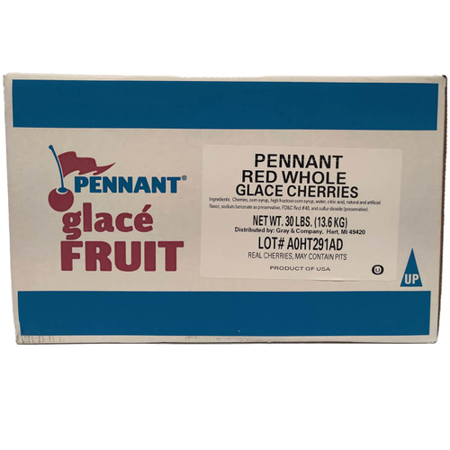Pennant Red Whole Glace Cherries