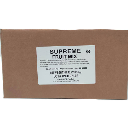 Pennant Supreme Fruit Mix - 30lb