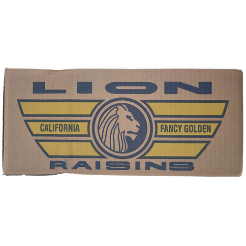Lion Fancy Golden Raisins - 30lb