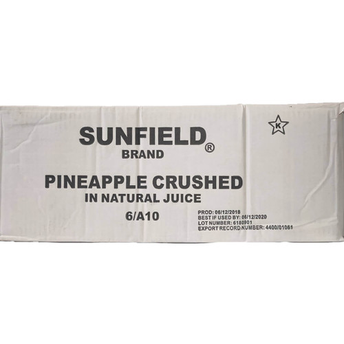 Pineapple Crushed - #10 Can/6ct