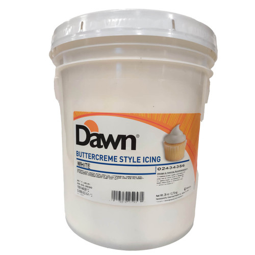 Dawn Foods White Buttercreme Style Icing