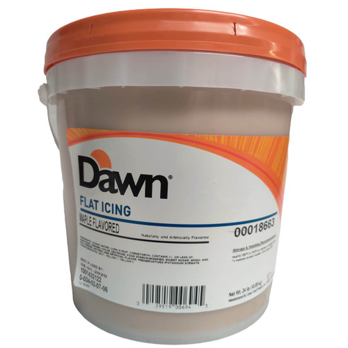 Dawn Foods Flat Maple Cold Dip Icing