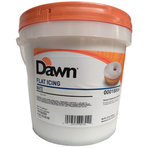Dawn Foods Flat White Cold Dip Icing