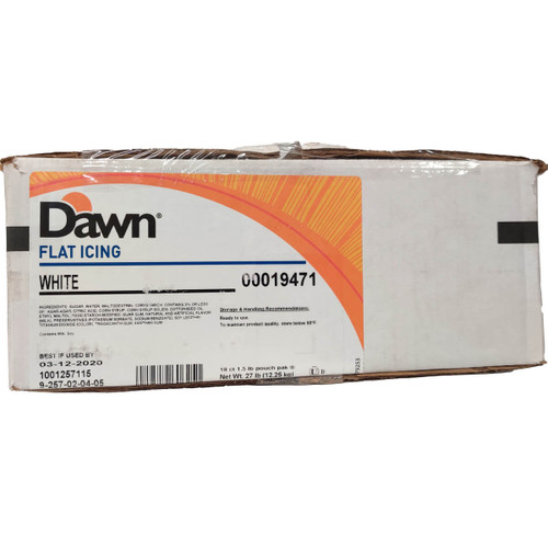 Dawn Food Flat String Icing Flat - 1.5lb/18ct