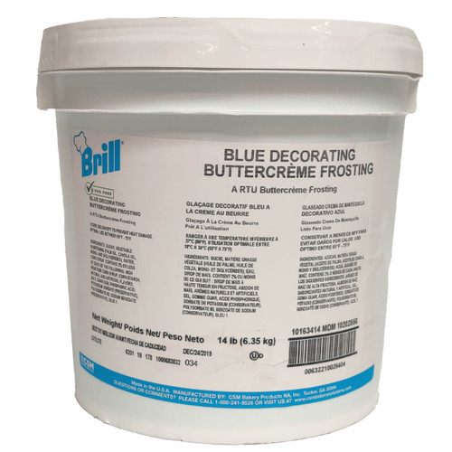 Brill Blue Decorating Icing