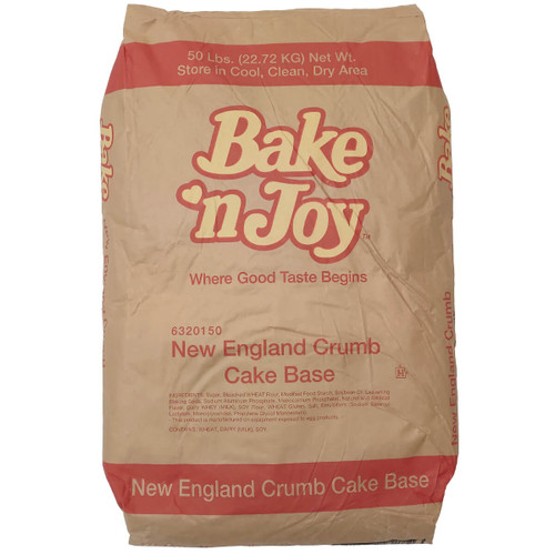 Bake N Joy New England Crumb Cake Base