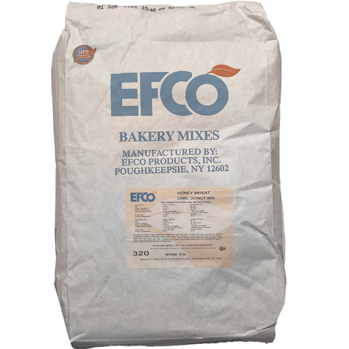 EFCO Honey Wheat Cake Donut Mix - 50lb