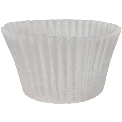"3.5"" White Baking Cups - 1000ct"