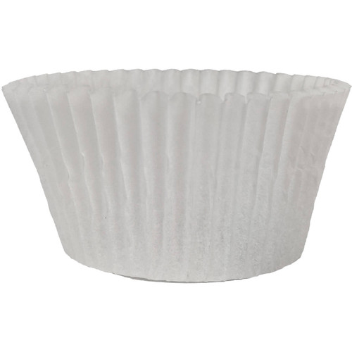 "4.75"" White Baking Cups."