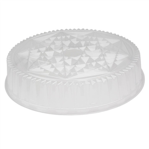 "Pactiv 16"" ClearView Caterware Plastic Dome"