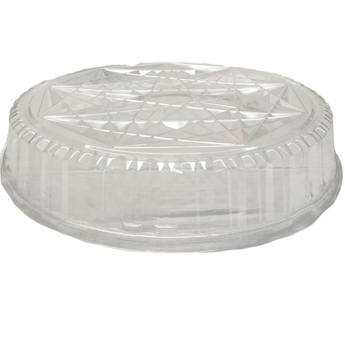 "Pactiv 18"" ClearView Caterware Plastic Dome"