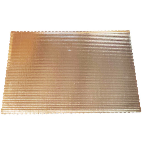 Gold Full Sheet Scallop Pad