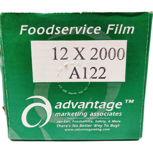 12 in x 2000 ft Food Service Film