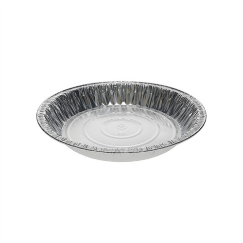 "Pactiv 9"" Extra Deep Pie Pan - 400/ct"