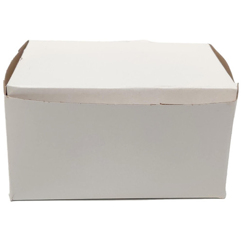 5 1/2 x 4 x 3 White Bakery Box