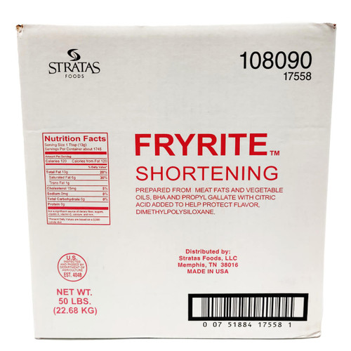 Fryrite Animal Vegetable Frying Shortening
