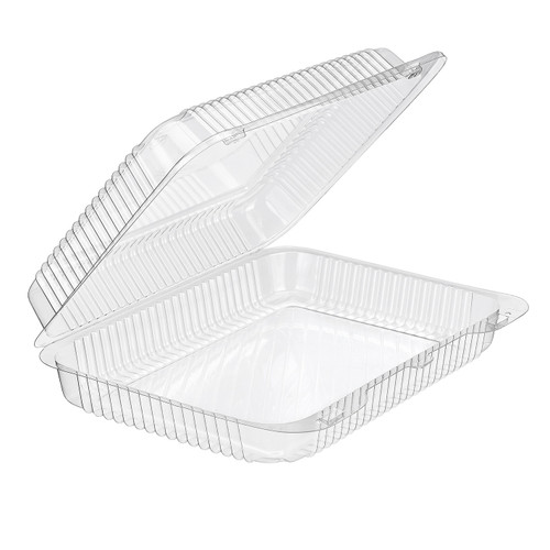 Inline Plastic SLP57 Clear Hinged Container