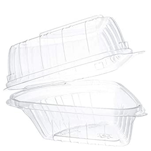 Dart Contanier ClearSeal® Clear Plastic Hinged Lid Pie Containers #C54HT1