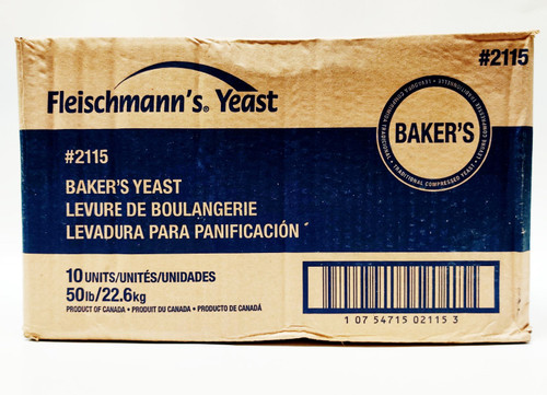 Fleischman's Compressed Fresh Yeast - 5lb