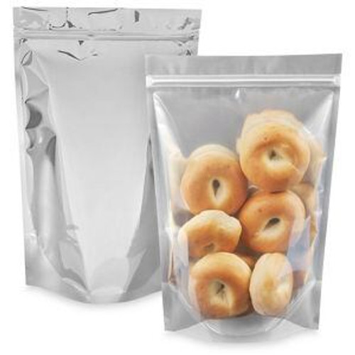 Glossy Stand-Up Barrier Pouches