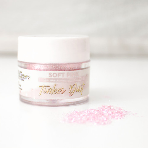 Bakell Edible Soft Pink Tinker Dust