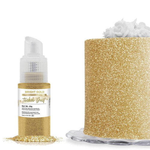 Bakell Edible Bright Gold Tinker Dust Spray