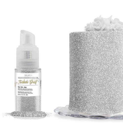 Bakell Edible Silver Tinker Dust Spray