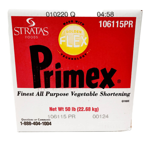 Primex Golden Flex Shortening