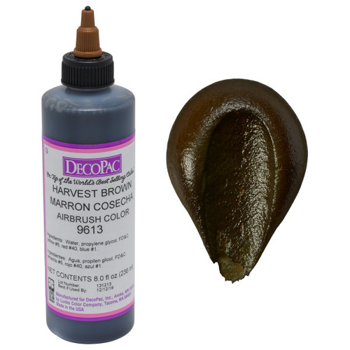 DecoPac Harvest Brown Airbrush Color