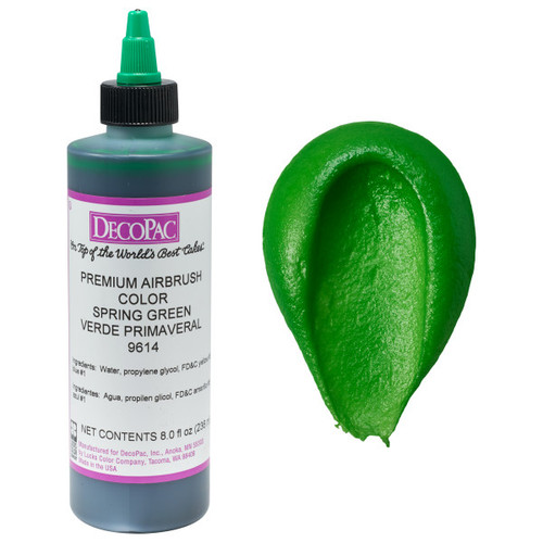 DecoPac Spring Green Airbrush Color