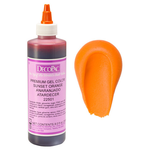DecoPac Sunset Orange Airbrush Color