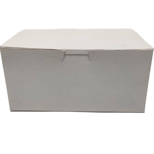 8 X 4 X 4 White Bakery Box