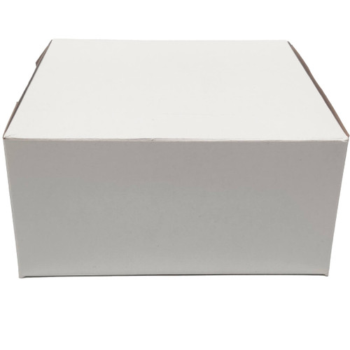 8 X 8 X 3 White Bakery Box