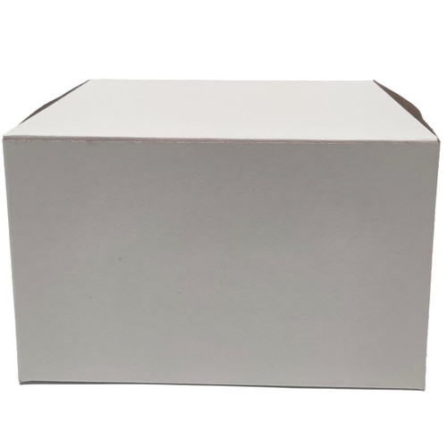 8 X 8 X 4 White Bakery Box