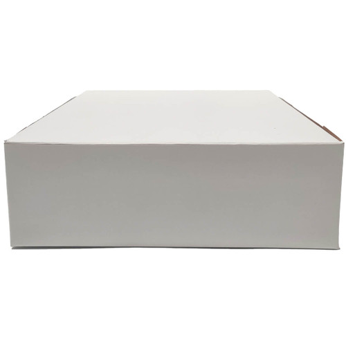 9 X 9 X 3 White Bakery Box