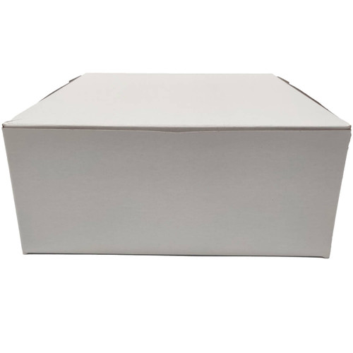 9 X 9 X 4 White Bakery Box